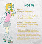 Hoshi [Character Sheet]