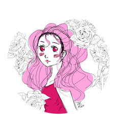 Pretty in Pink by AKreiko