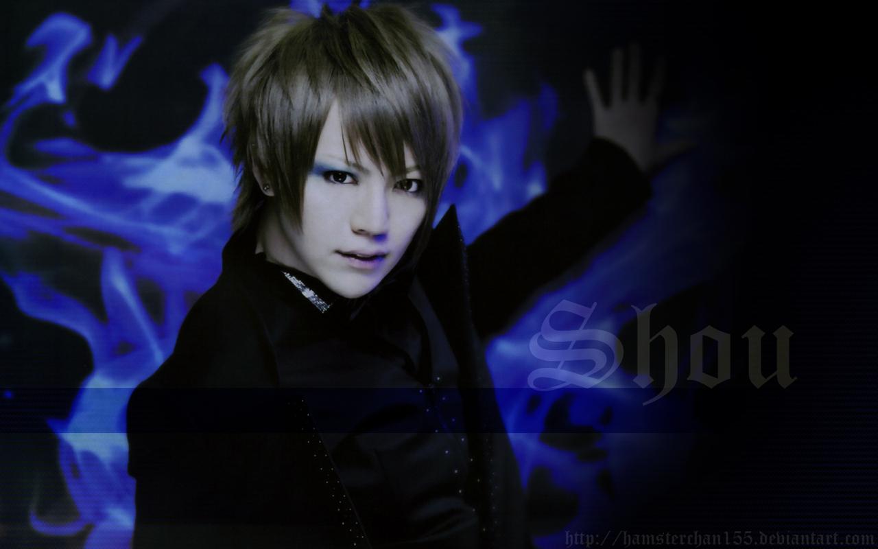 Shou Blue Flame 1280x800