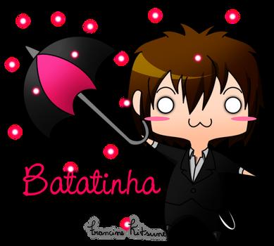 Batatinha With Umbrella by hamsterchan155