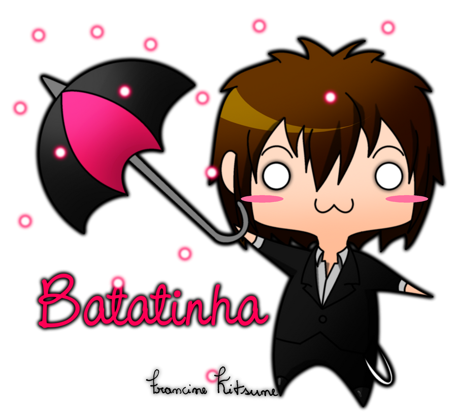 Batatinha With Umbrella