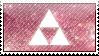 Pink Triforce Stamp by Judas-la-Carotte
