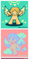 TBoI - Angels x Color palettes by Judas-la-Carotte