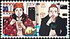 saint oniisan - stamp
