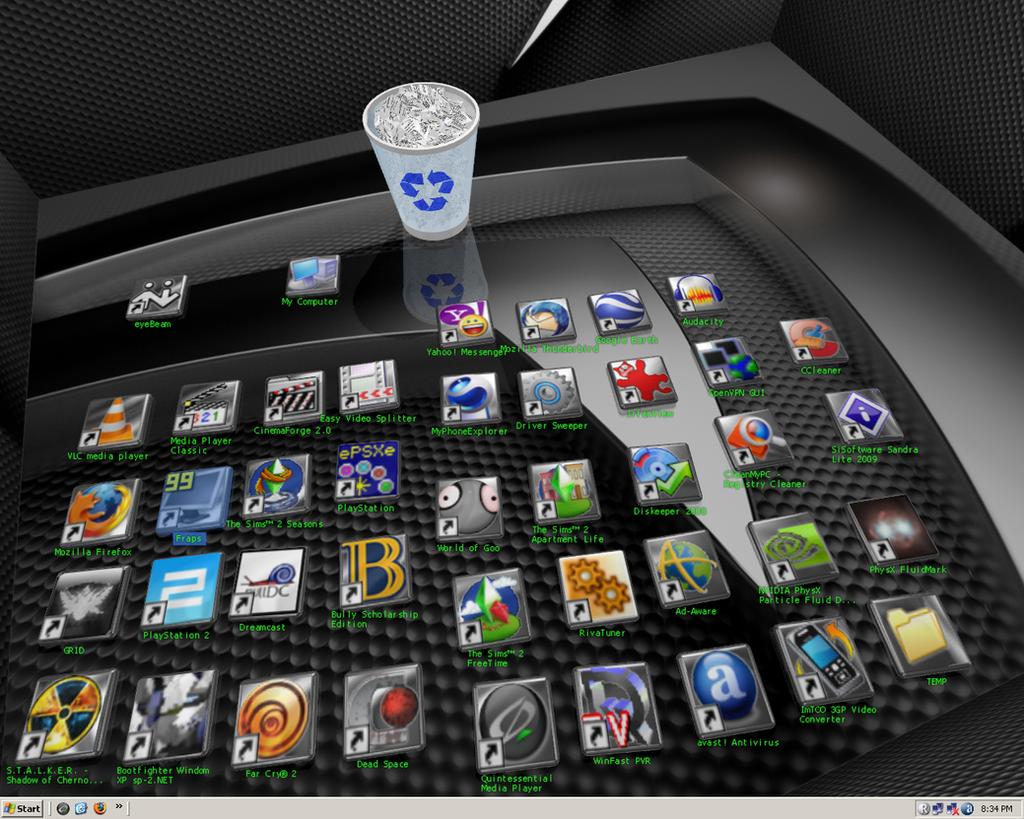 Desktop by ViperXtreme