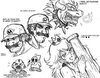 Mario Brothers and Company by ViperXTR