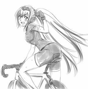 Cycling Miku
