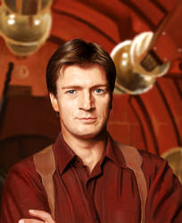 Nathan Fillion by yodaxy
