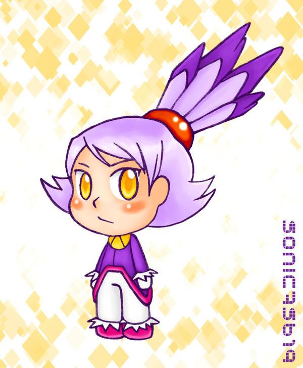 Blaze Human Chibi By Sonic75619 On DeviantArt