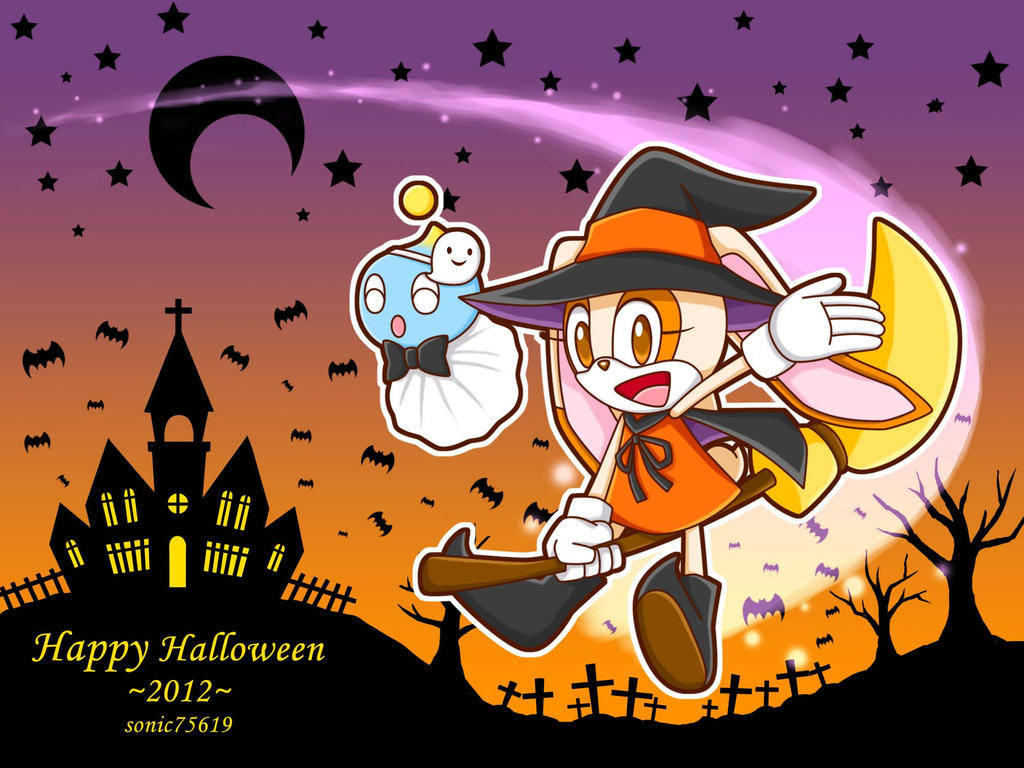 Happy Halloween 2012 by sonic75619