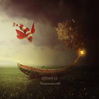Fantasy boat by JennyLe88