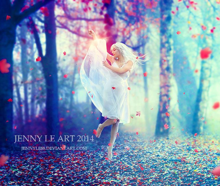 My dance by JennyLe88