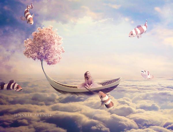 Sky journey by JennyLe88