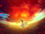 Red dream by JennyLe88