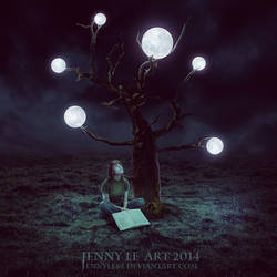 Tree of Moon by JennyLe88
