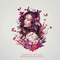 Flowers Dream by JennyLe88