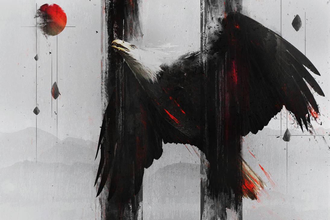 Abstract Eagle