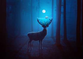 Surreal Deer