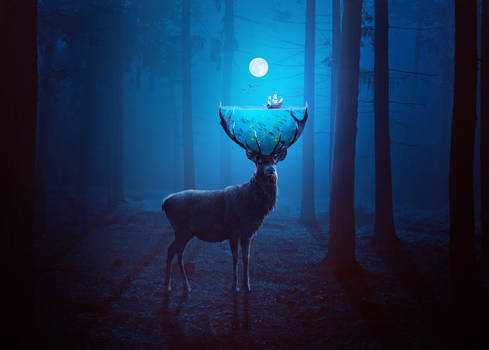 Surreal Deer
