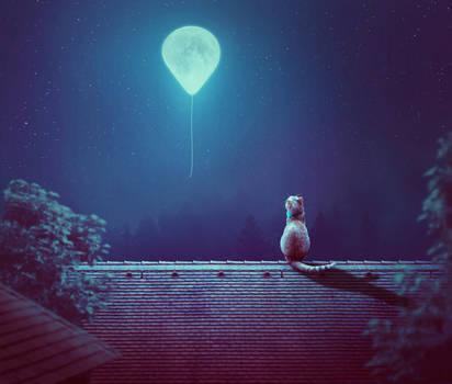 Moon Balloon 4