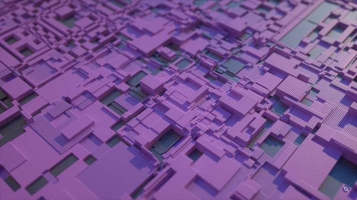 Circuit Board, Displacement Cubes