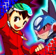 Megaman And Geo Avatar Or Icon by klademasta8