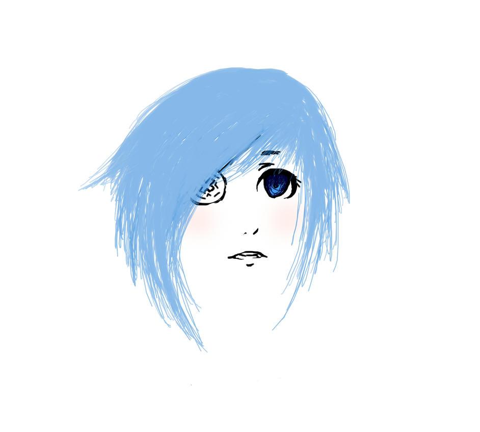 Blue by AzureSparrow