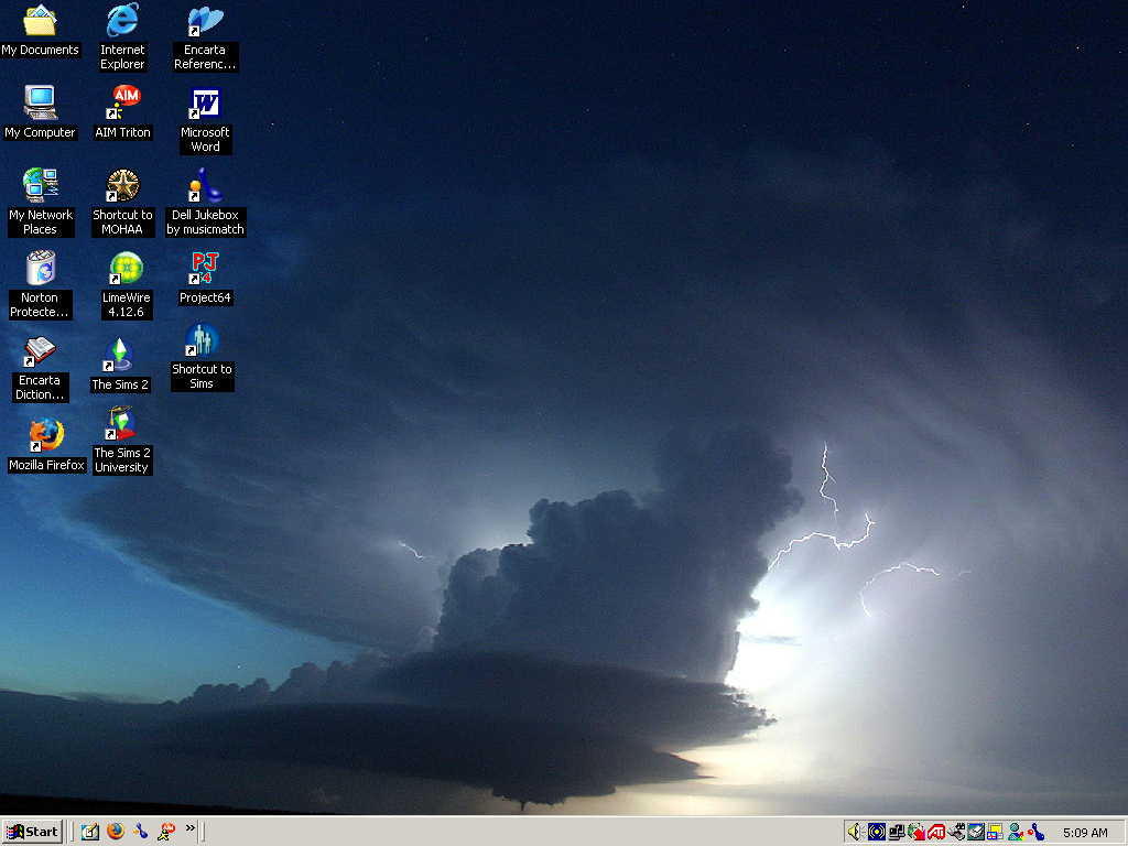 Desktops and Tornadoes