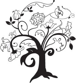 Whispy Tree by euphorialas