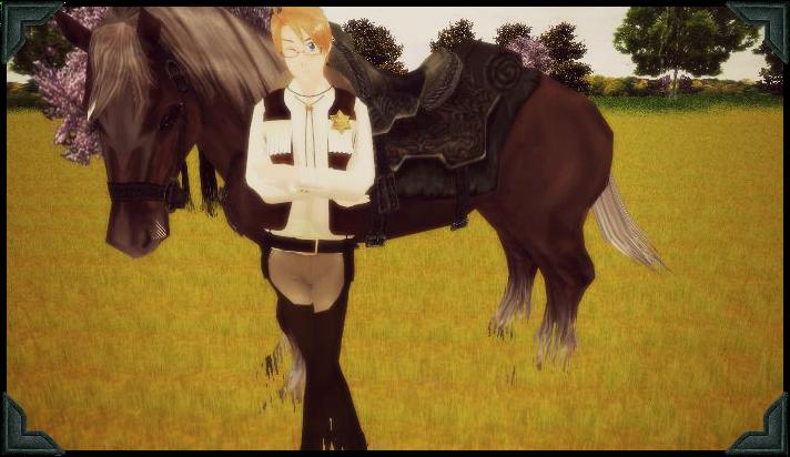Cowboy by xbloodrosedragon
