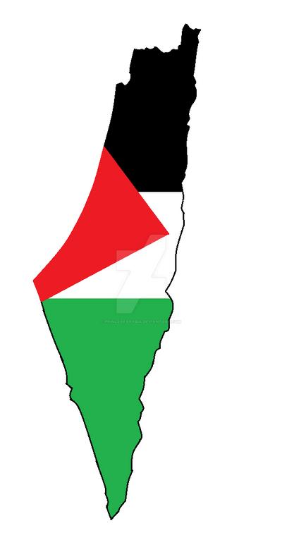 Palestine Flag Map Flag Map Of Palestine by PrinceOfArabia on DeviantArt