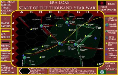 Start of the Grate Dren war