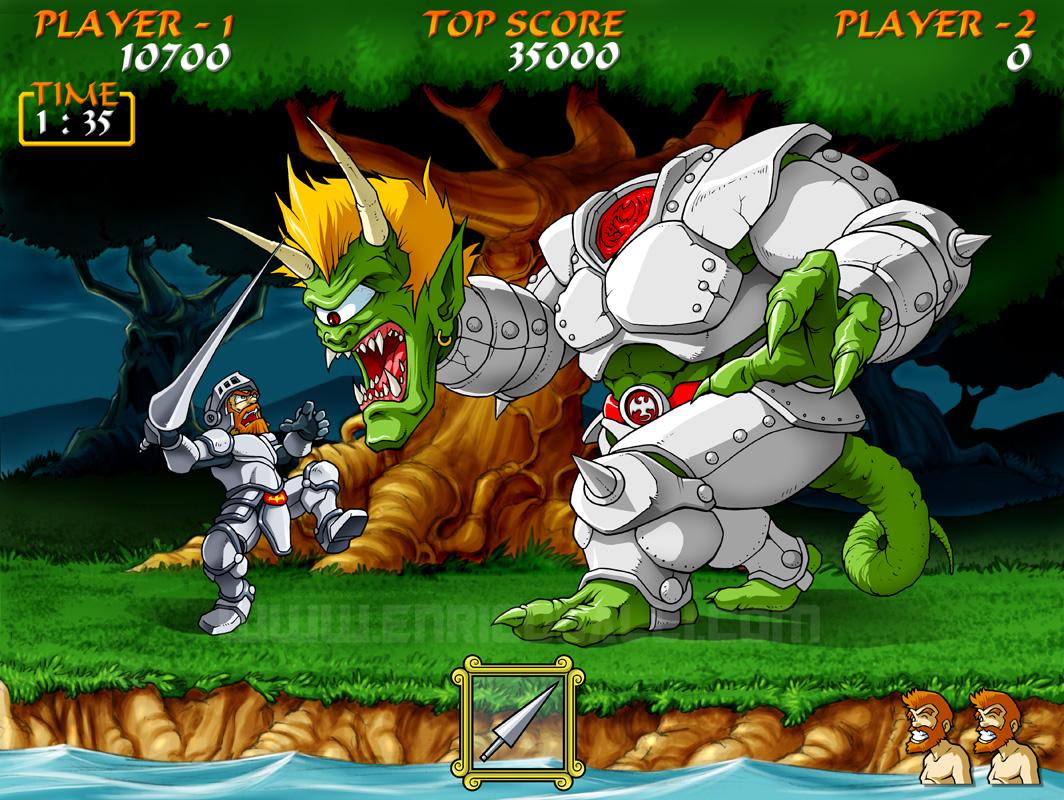Capcom: Ghouls'n Ghost