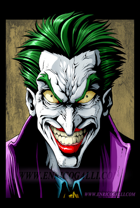 Batman: Joker by EnricoGalli