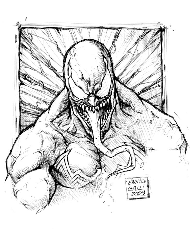 how to draw lego venom