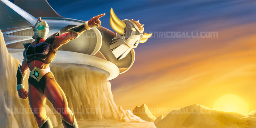 grendizer___duke_fleed_by_enricogalli-d3