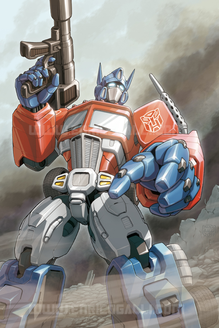 Transformers: Optimus Prime by EnricoGalli