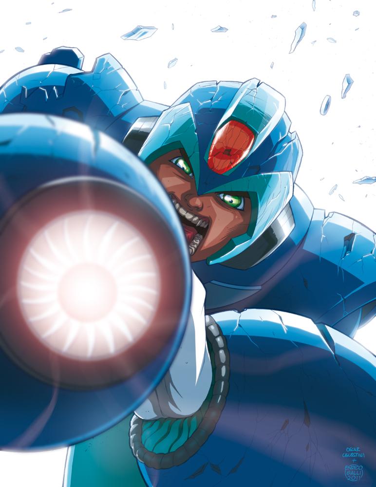 Megaman Tribute by EnricoGalli