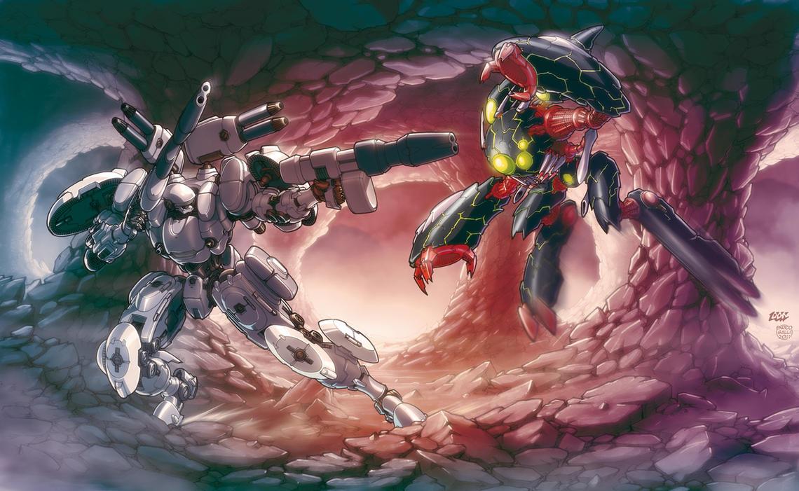 ARMARAUDERS: VS 1 by EnricoGalli