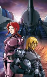 ARMARAUDERS: Issue #2 - Cover B by EnricoGalli