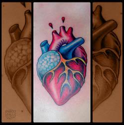 Tattoo: Heart by EnricoGalli