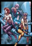 ARMARAUDERS GIRLS by EnricoGalli