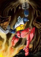 Getter Robot 2 by EnricoGalli