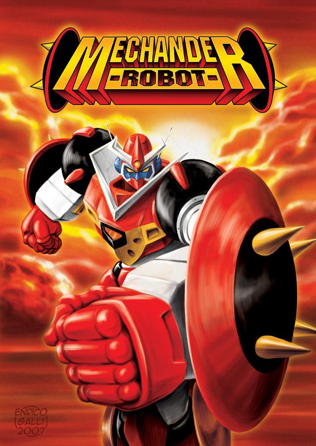 Mechander Robot 1 by EnricoGalli
