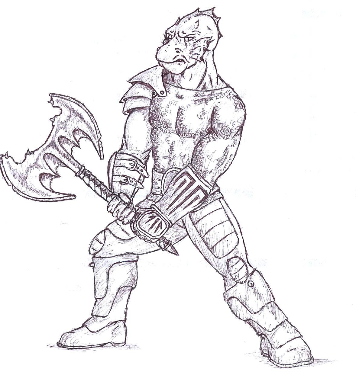 Half dragon man not trogdor by dekerlegend on deviantart half dragon man not trogdor by dekerlegend ccuart Images