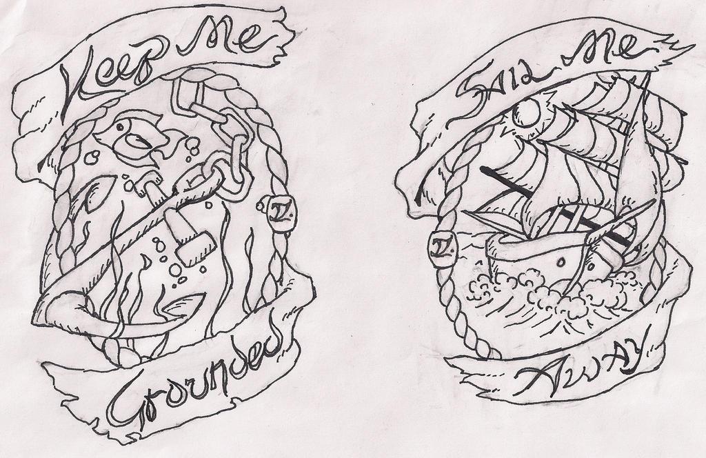 Sail Me Away/ Keep Me Grounded by dekerLEGEND
