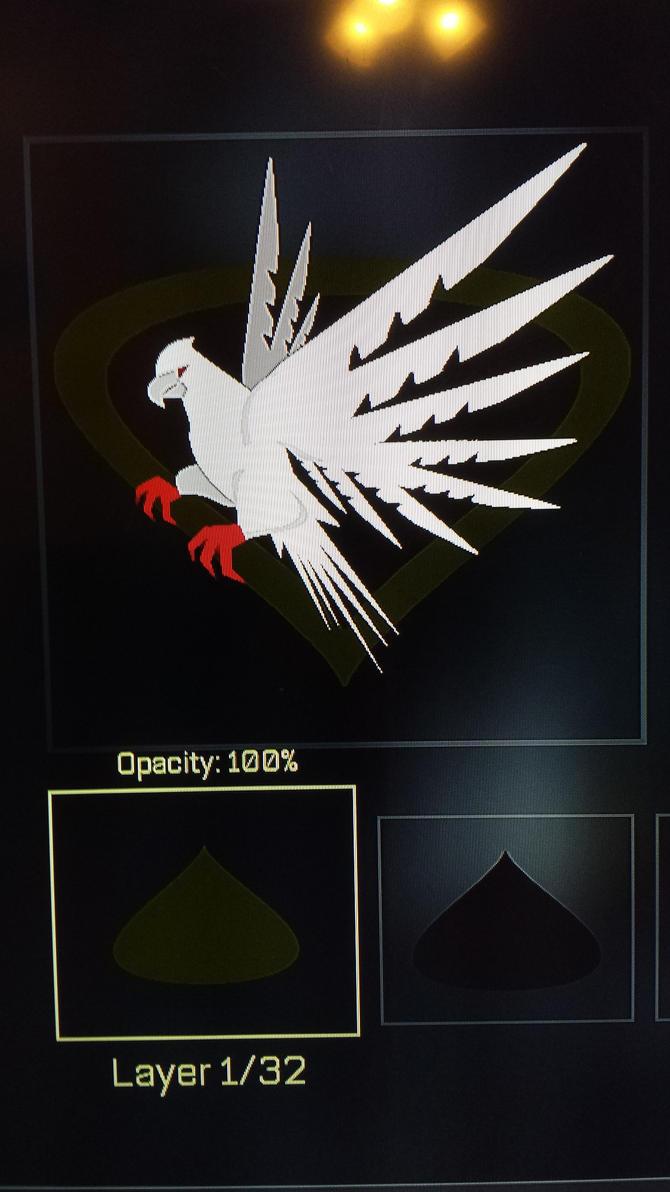 COD AW emblem bird by dekerLEGEND