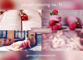 AESTHETICS - PicsArt Coloring No. 11 by gemini-graphics