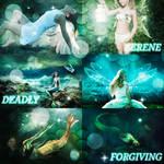 Serene, Deadly, Forgiving | Picspam