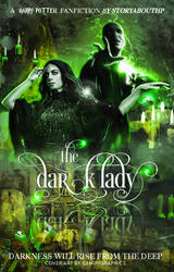 The Dark Lady | Book Cover by gemini-graphics